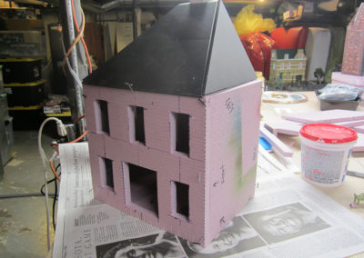 Creating a french village building