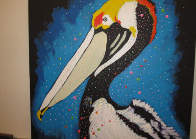 Colleens penguin...Painting for Colleen Dillon, my favorite boss