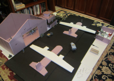 airfield mock up