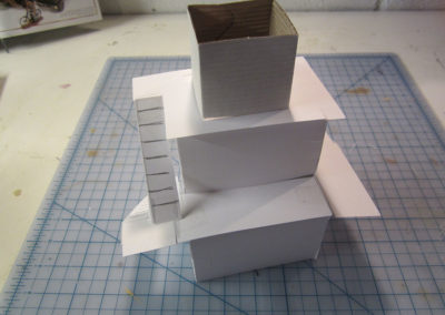 Control tower mock up