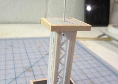 Making Radio mast