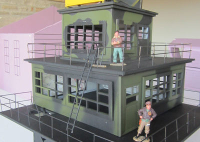 Making the control tower