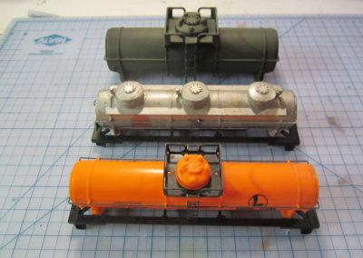 Making fuel storage tanks