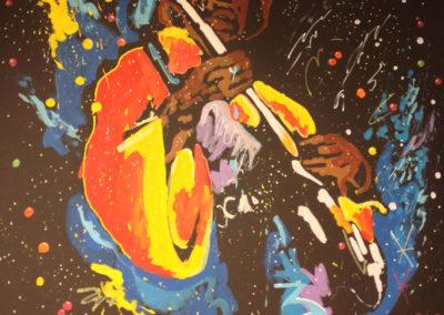 Jimi Hendrix,  ex-paratrooper turned Rock God