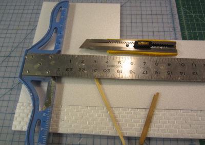 Tools to make brickwork.