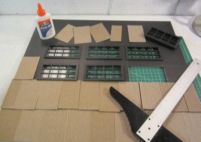 Making the hanger roof
