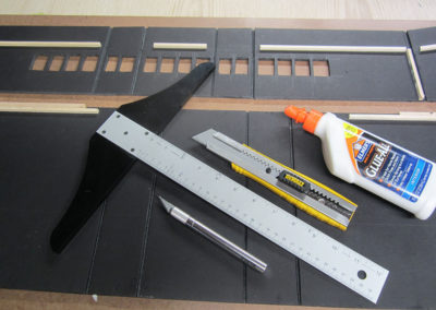 Basic tools to build a japanese aircraft carrier