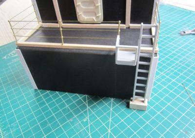 Making a Japanese carrier back deck