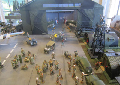 Diorama-the night before D-Day 24