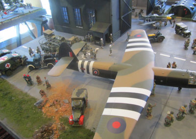 Diorama-the night before D-Day 23
