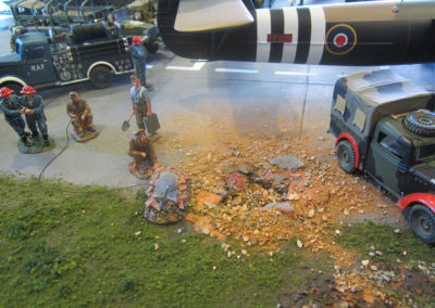 Diorama-the night before D-Day 22