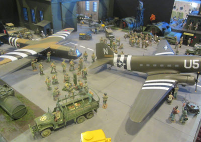 Diorama-the night before D-Day 14