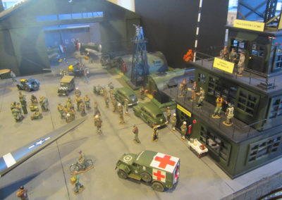 Diorama-the night before D-Day 13