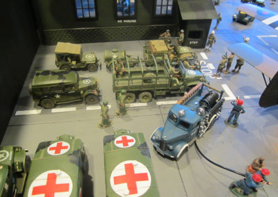 Diorama-the night before D-Day 9