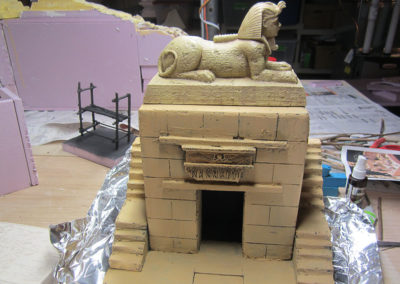 Temple structure for the Secret German airfield-Egypt 1941