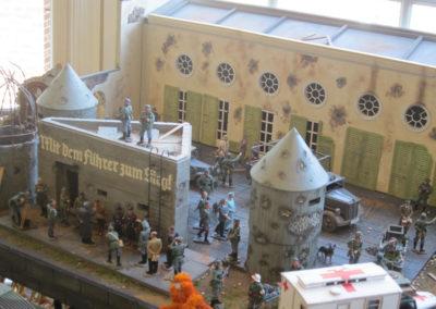 Hitlers final Bunker diorama