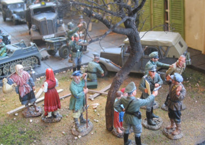 Hitlers final Bunker diorama-Panic sets in as the Russians near Berlin