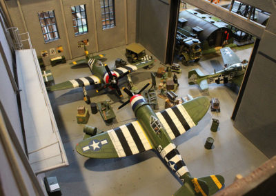 Diorama-the night before D-Day 6