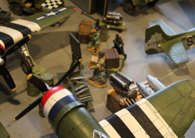Diorama-the night before D-Day 5