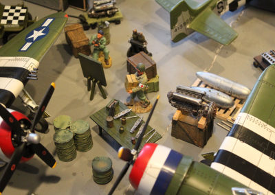Diorama-the night before D-Day 4