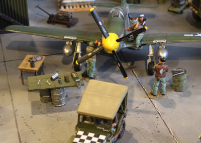 Diorama-the night before D-Day 1