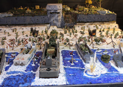 50 Sq ft Saving Private Ryan Diorama