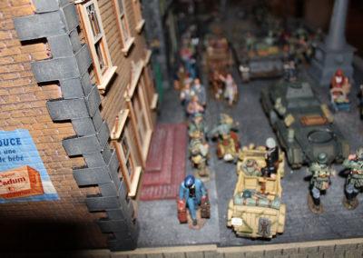 France-May 1940-German Blitzkrieg passing through French Village May 1940