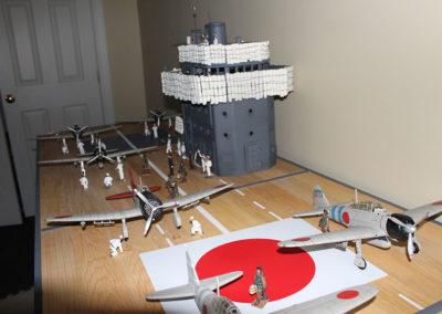 Flight deck-Japanese carrier Akai Dec 7,1941