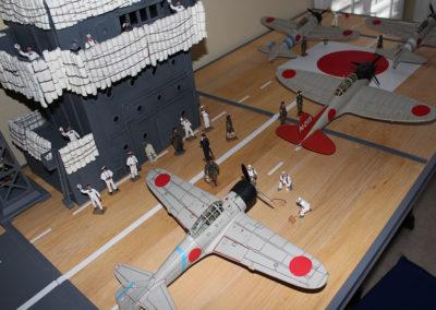 Japanese carrier flight deck