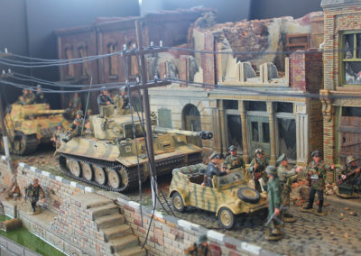 "Street detail for ""A bridge too Far"" diorama"