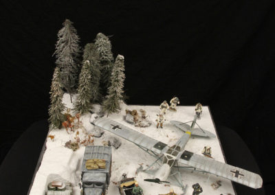 Behind American lines-Battle of the Bulge