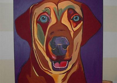 Maximus Son Scott's first dog