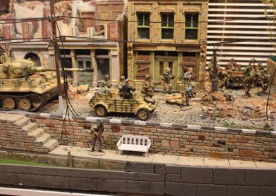 German Panzer officers confer