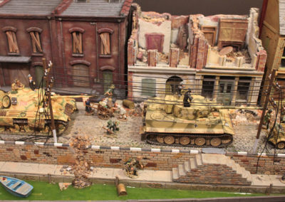"River front from diorama of ""a Bridge too far"""