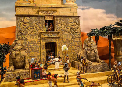 Ancient-Egypt-Diorama-The temple of Ra