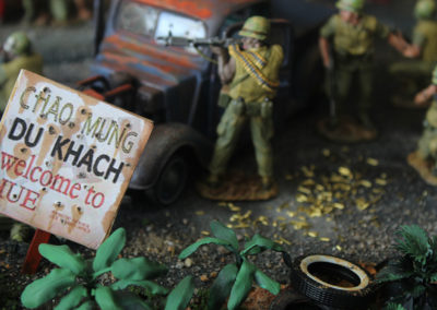 Shell casings mount up quickly as marines fight for their lives house to house in Hue