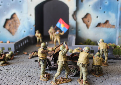 NVA troops try and attack the Marine attackers