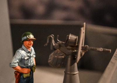 USS-Bunker-Hill-Diorama---iAA gun from kit