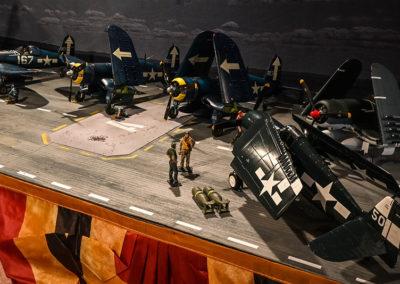 USS-Bunker-Hill-Diorama---Flight deck