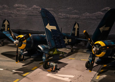 Getting Corsairs ready to launch