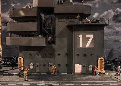 "USS-Bunker-Hill Operations ""Island"""