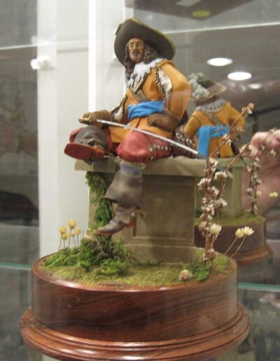 Porthos, a Musketeer of the Kings Guard, 1625